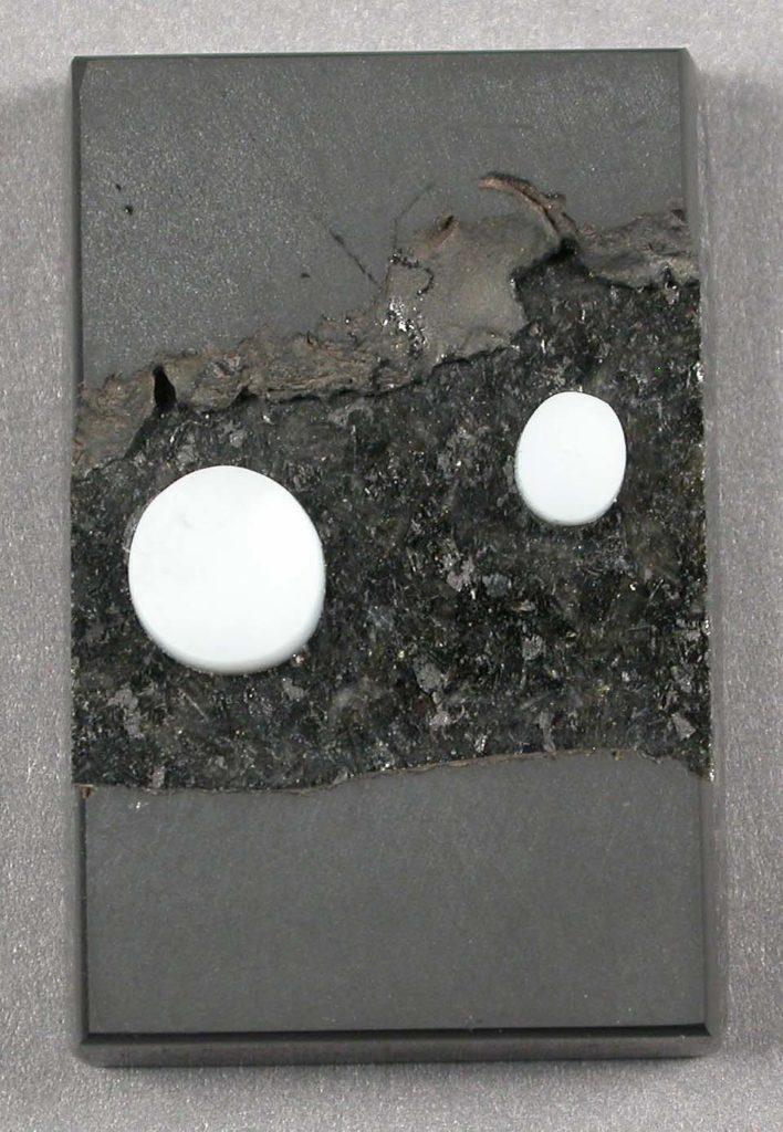 Black Granite / Basalt / White Opal Laminate