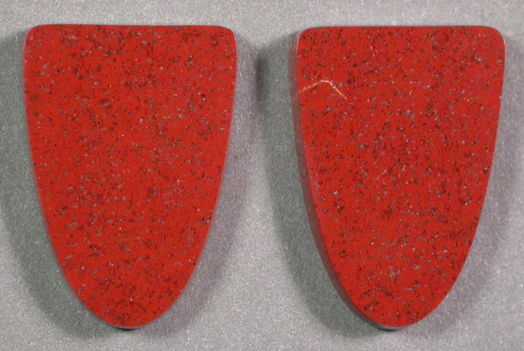 Red Jaspers, Matched Pair